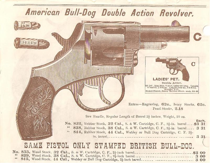 Iver Johnson American Bulldog 1st Type The Firearms Forum The