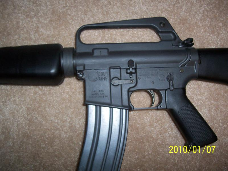 colt ar 15 serial number location