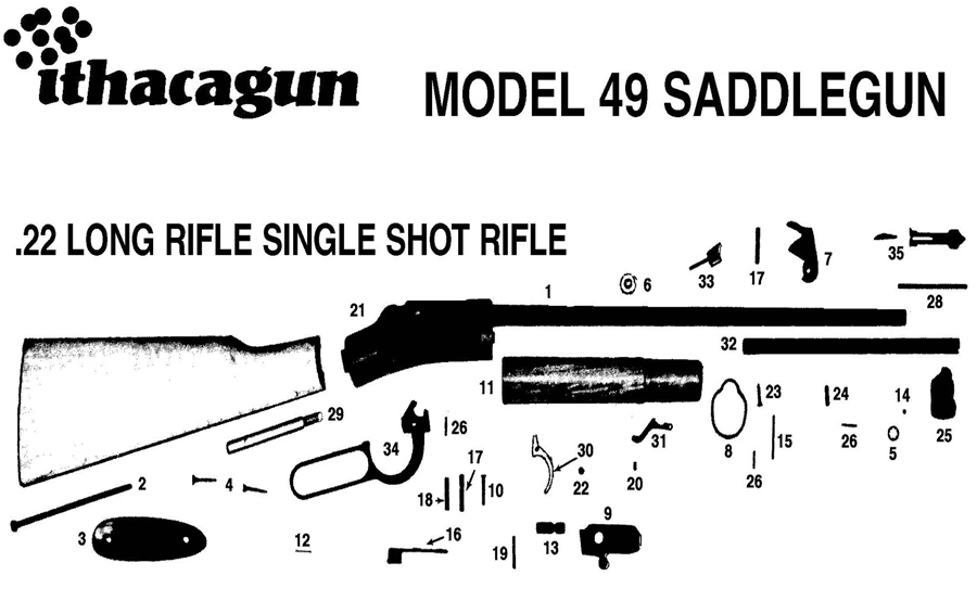 Cannon Mini Mag And Mini Mag 2 Downrigger Parts further Ithaca M 49 22 Single Shot Lever Action together with C 11 as well Abu Garcia 6500 Ambassadeur Parts C 187196 187197 187587 additionally Small Door Seal Exploded Diagram. on schematic parts list