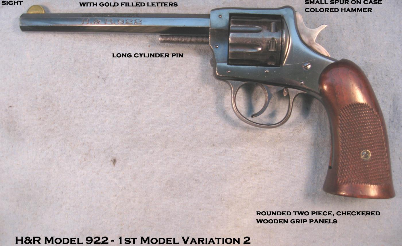 H&R 922 made in 1931 | The Firearms Forum - The Buying, Selling or