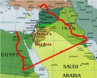 Ever wondered how the map of modern day Israel compares to ancient