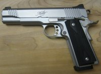 My .45 ACP Kimber Custom Stainless TLE II   1 small.jpg