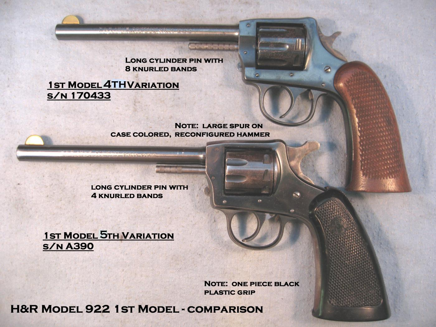My fathers 1944 H&R 922 s/n E7679 | The Firearms Forum - The Buying