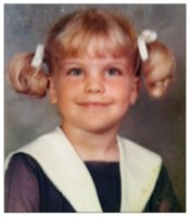 Abby Sciuto, as a little girl, Pauley Perrette.jpg