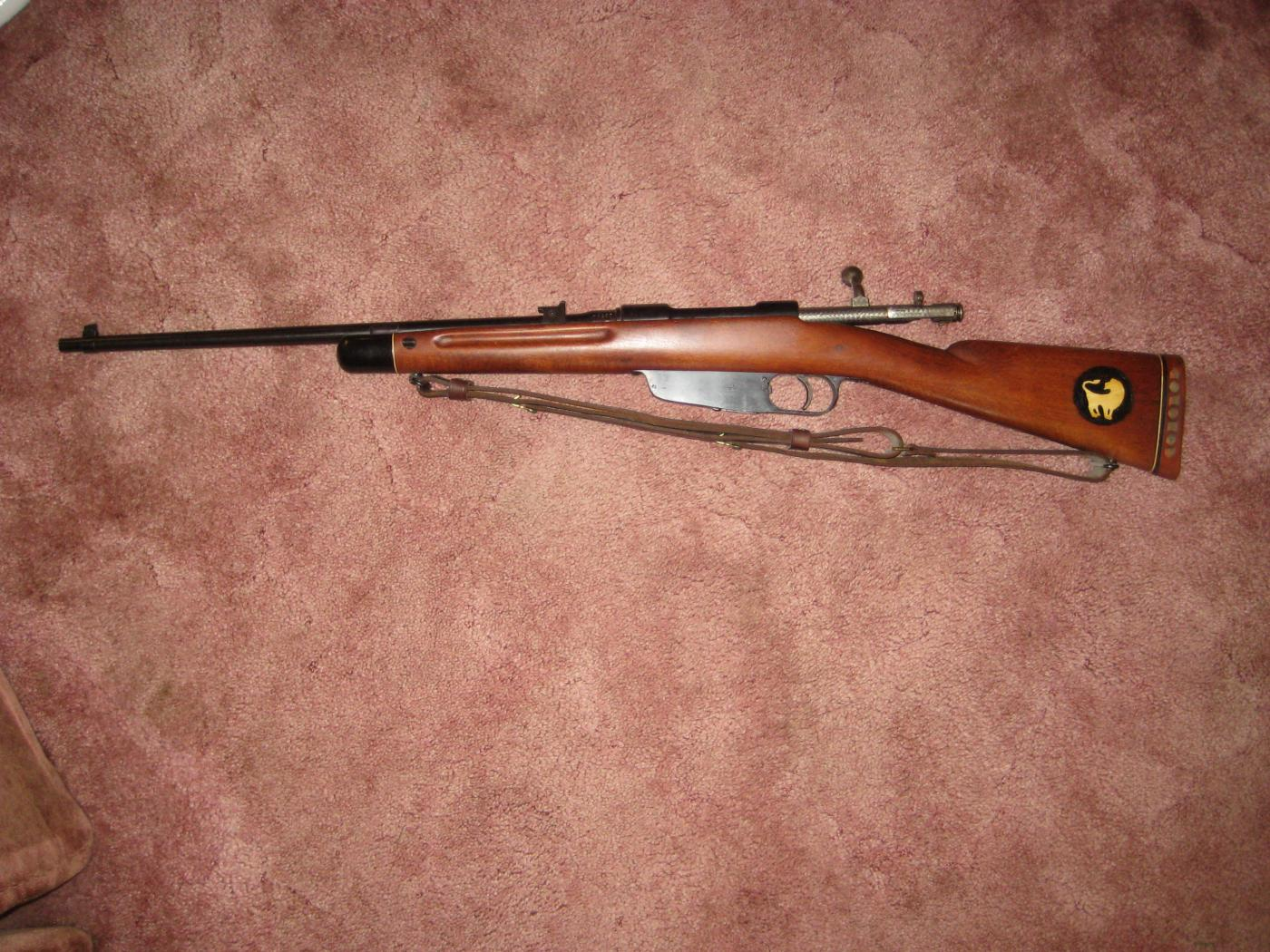 terni singles This is a 9138 terni carcano chambered for 735x51 the finish has grayed along the metal the stock is in good condition and has for sale by marzan on gunsamerica - 982185646.
