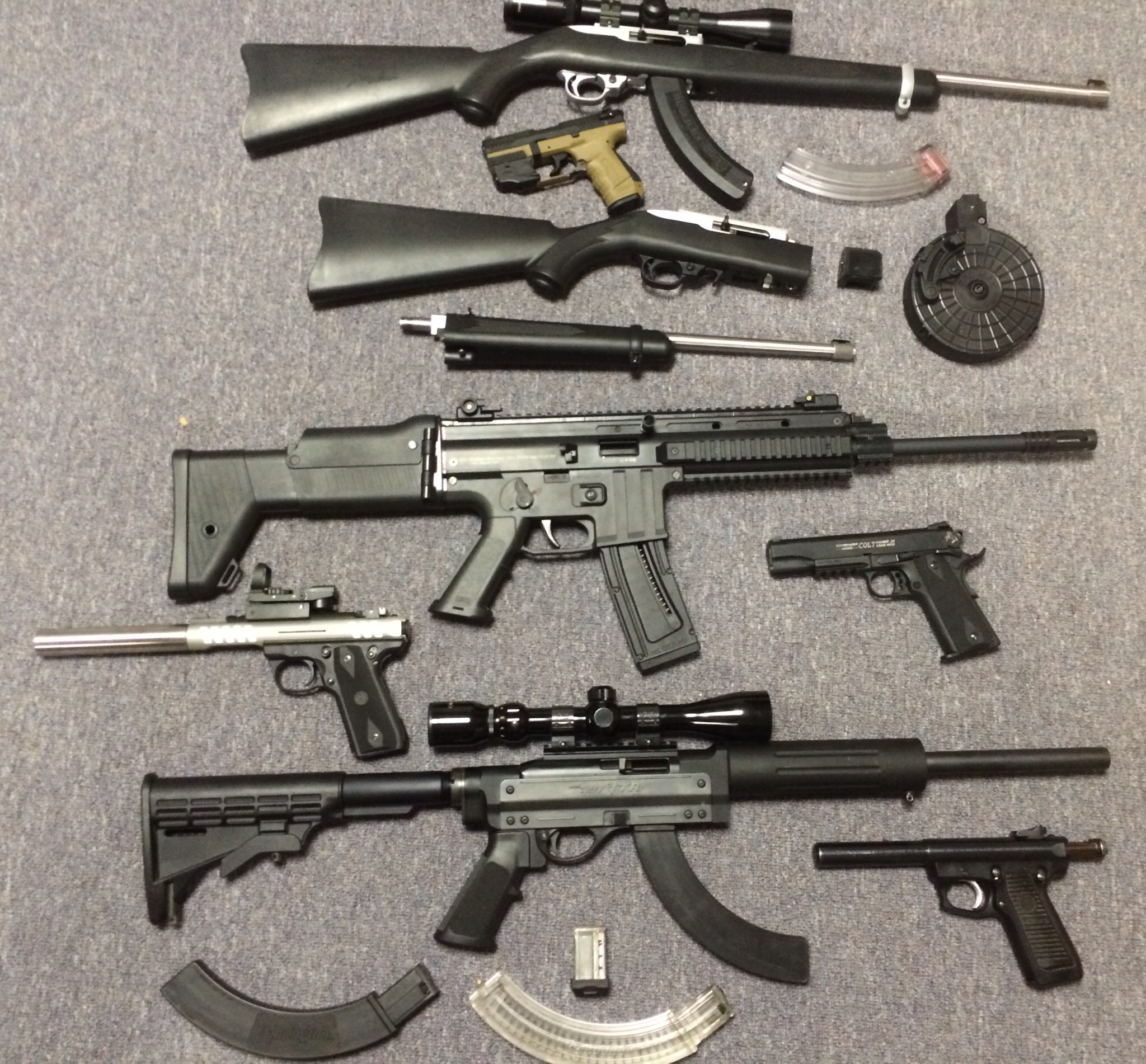 22lr Collection Addiction The Firearms Forum The