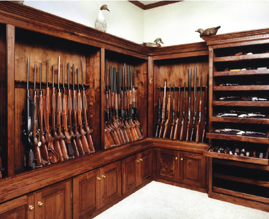 Pouring a walk in vault the firearms forum the buying for Walk in gun vault
