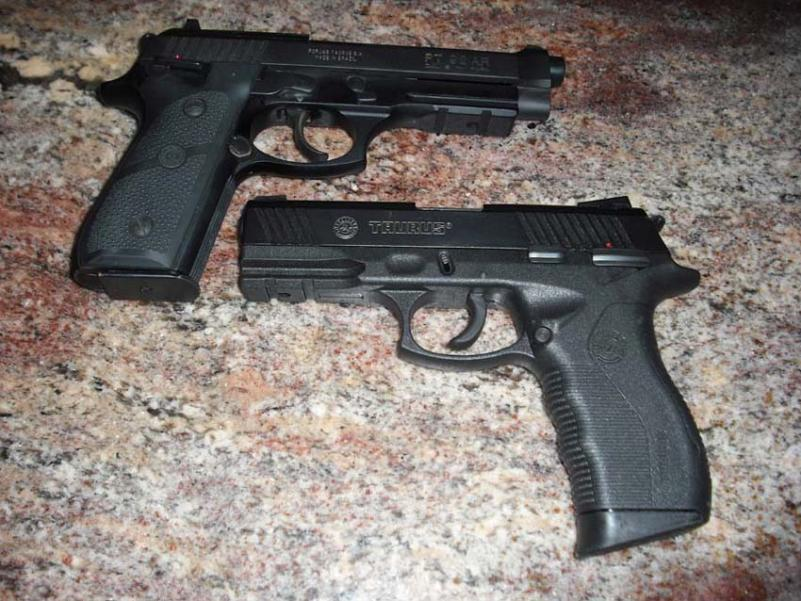 Picked Up A Taurus PT840 | The Firearms Forum - The Buying