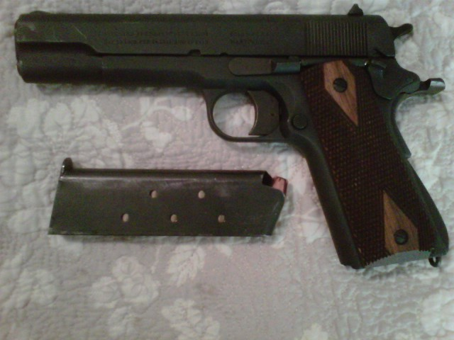 Questions about my 1st 1911 | The Firearms Forum - The