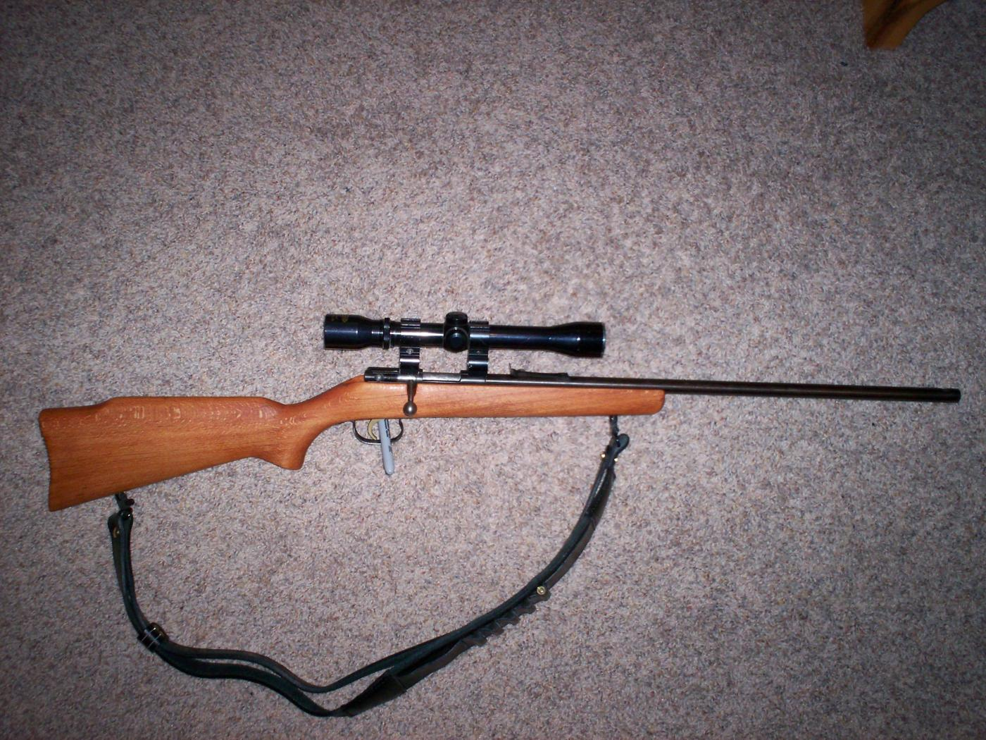 LUX 22 Hornet Rifle, single shot, can't find info | The
