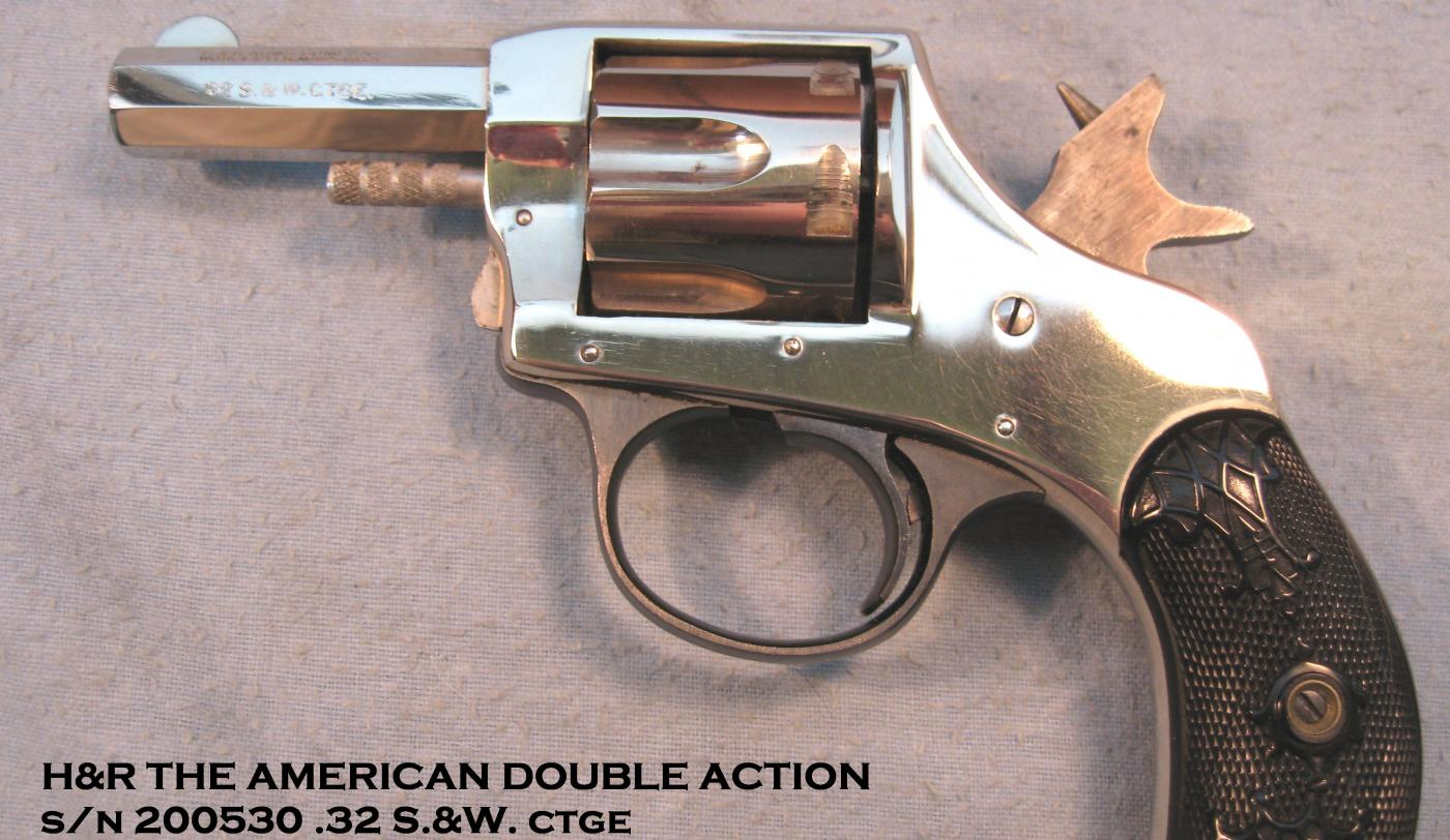 H&r 32 revolver the american double action dating
