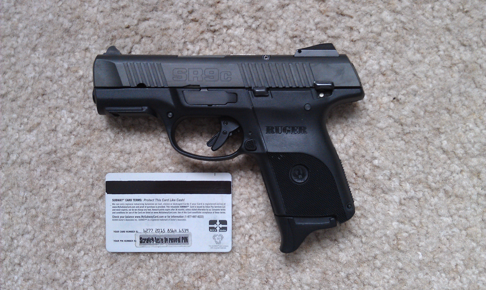 Ruger SR9c Purchase | The Firearms Forum - The Buying