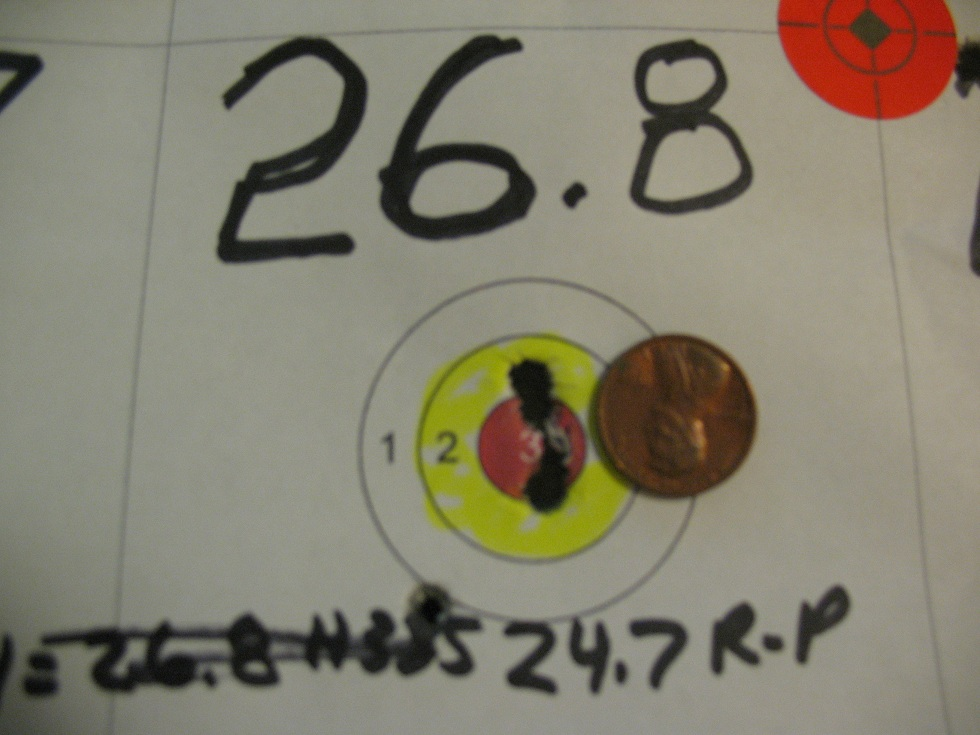 223 with H335 powder and 52 grain Sierra Matchking | The