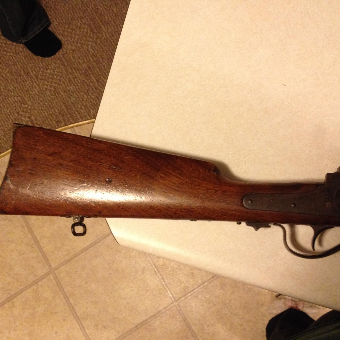 Help with identification of a Sharps rifle | The Firearms