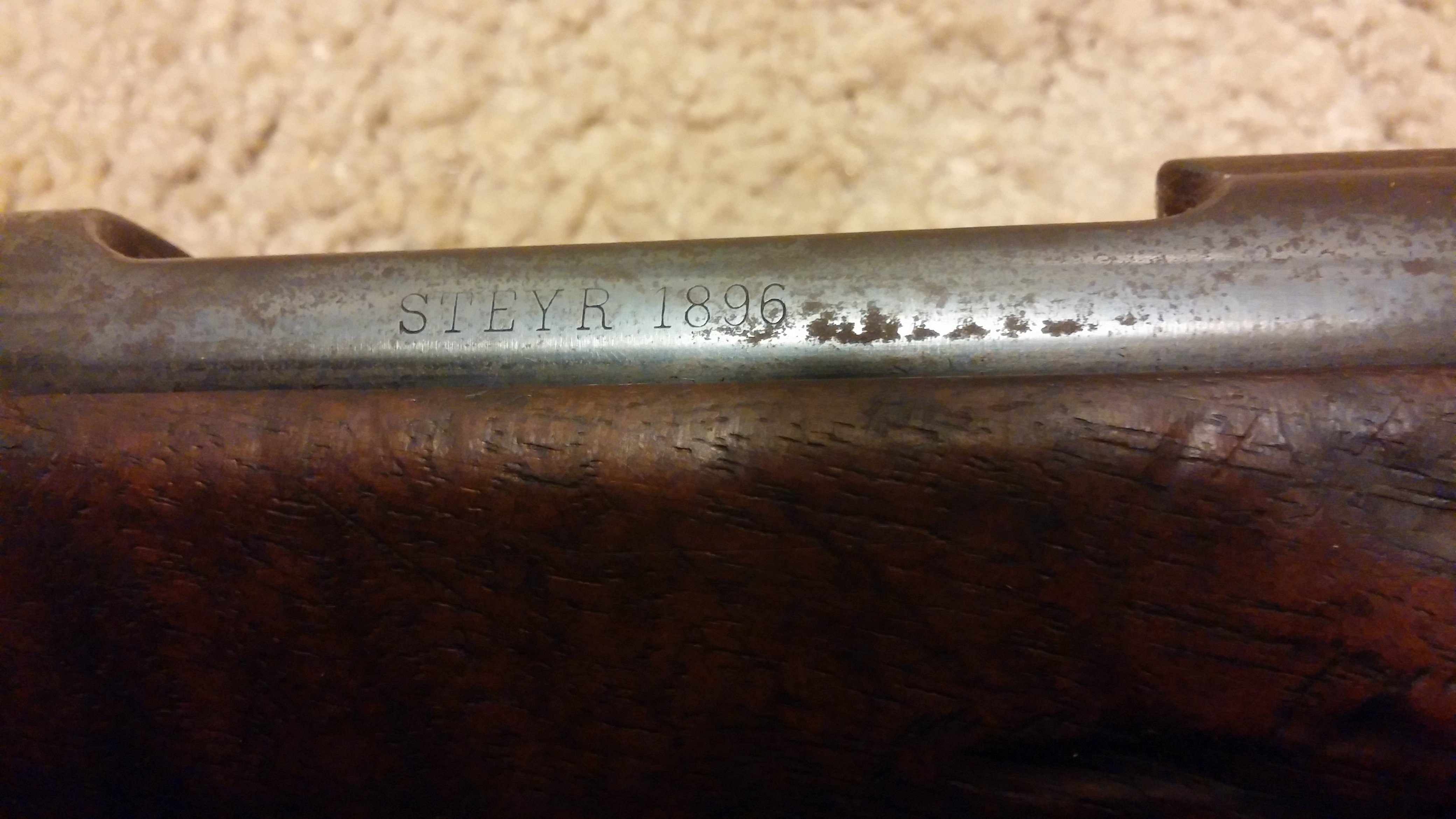 Possible WW1 or 2 Rifle found - price? | The Firearms Forum - The