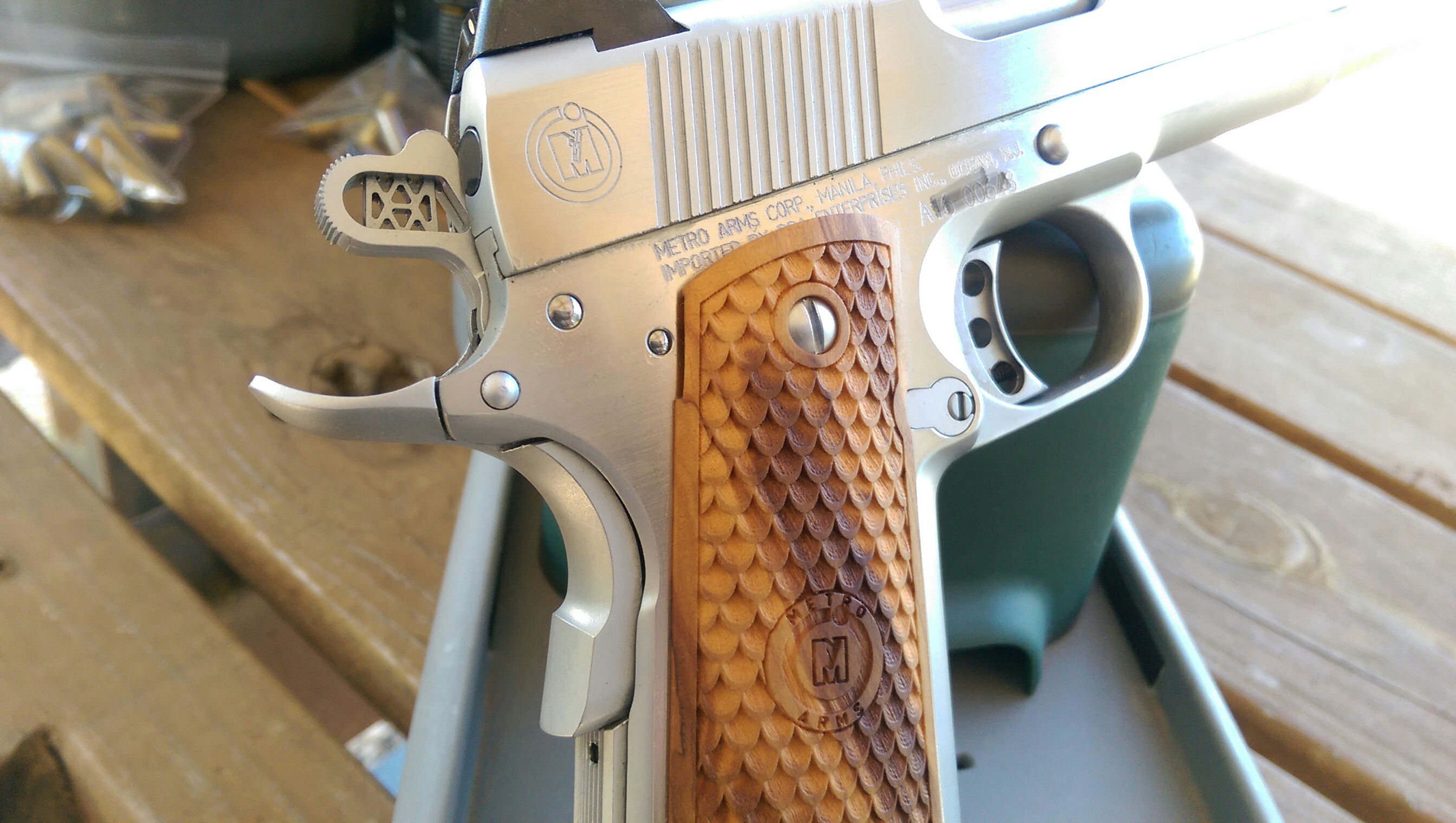 My new baby    Metro Arms Corp American Classic II 1911